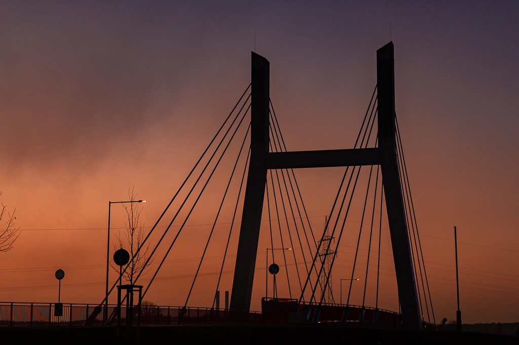 Fotografie Bild Brücke Mülsen